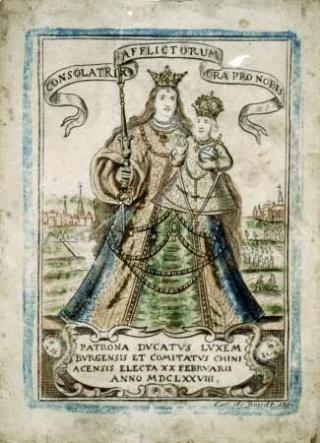 Virgen de los Afligidos / Exvotos e inscripción - OO(023)(R.M. SXIX-O58) Consol10