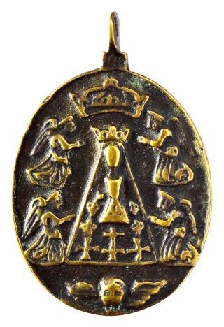 Liesse - Virgen de Liesse / Entrega del rosario a Sto. Domingo de Guzmán Nd_l_a12