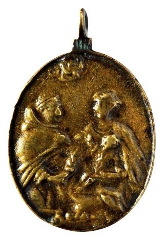 Liesse - Virgen de Liesse / Entrega del rosario a Sto. Domingo de Guzmán Nd_l_a13