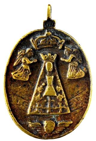 Liesse - Virgen de Liesse / Entrega del rosario a Sto. Domingo de Guzmán Nd_l_n12