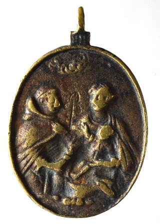 Liesse - Virgen de Liesse / Entrega del rosario a Sto. Domingo de Guzmán Nd_l_n13