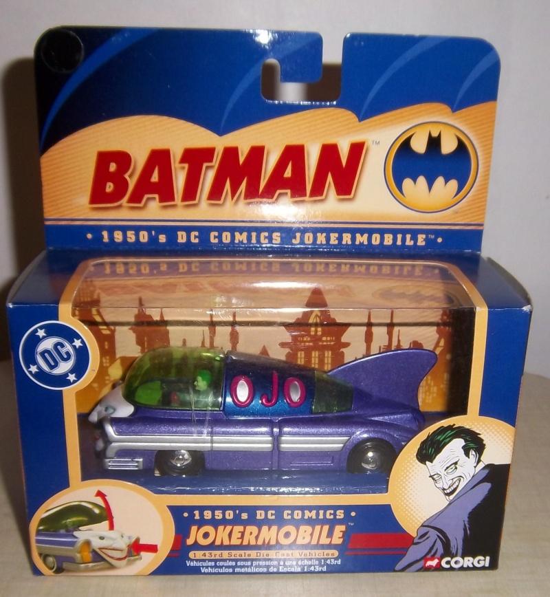 Gamme Batmobiles CORGI 2005 1:43ème 1950jo10