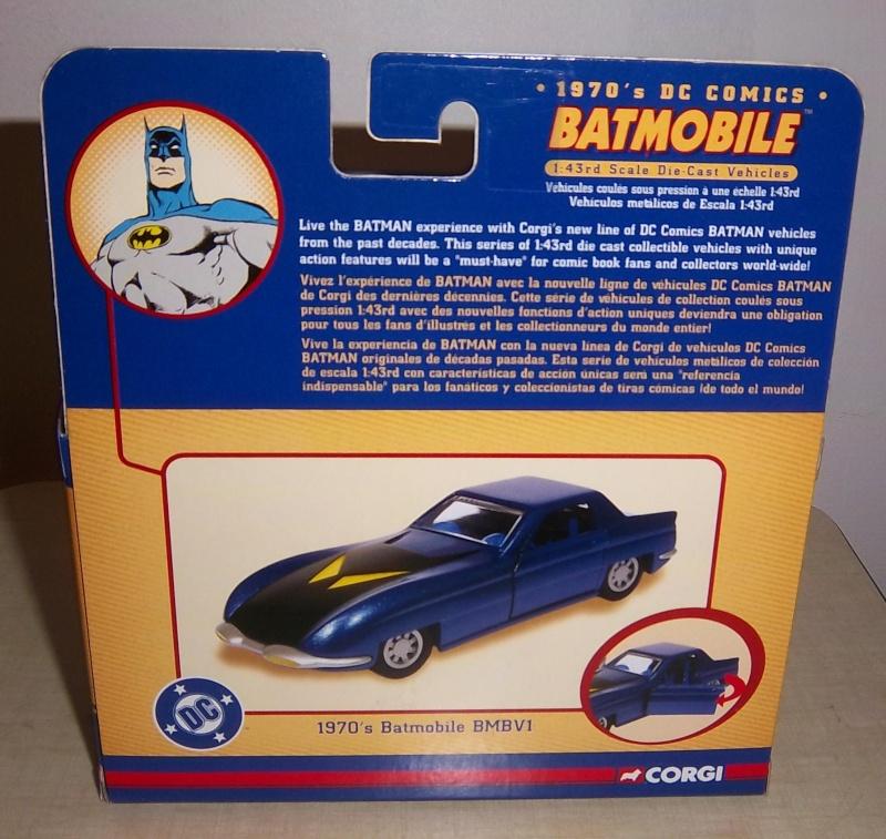 Gamme Batmobiles CORGI 2005 1:43ème 197110