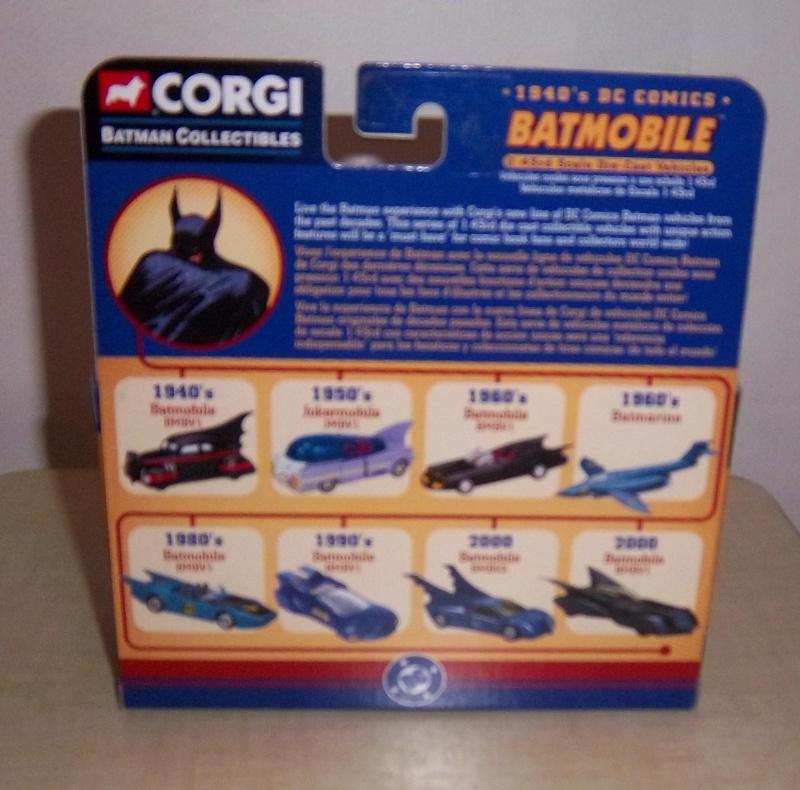 Gamme Batmobiles CORGI 2005 1:43ème Dos10