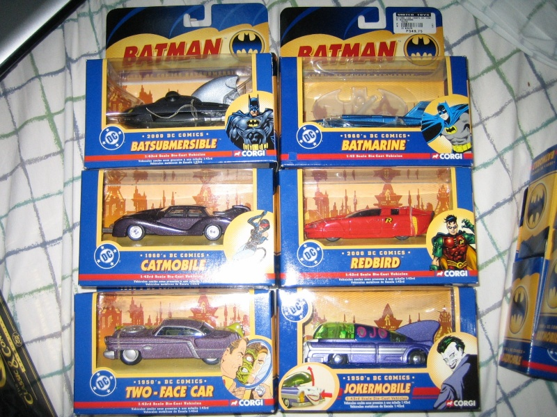 Gamme Batmobiles CORGI 2005 1:43ème Ensemb11