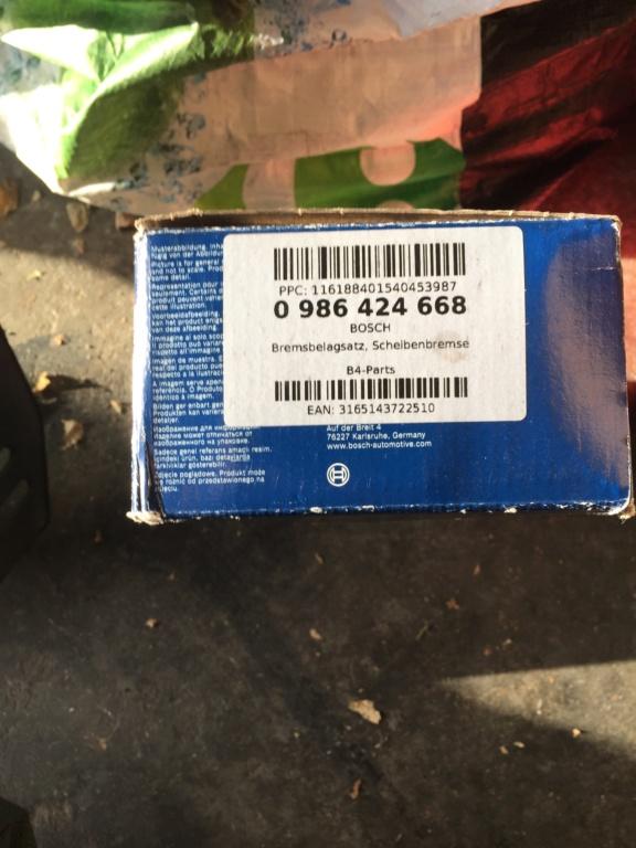 Disques et plaquettes avant  685f0310
