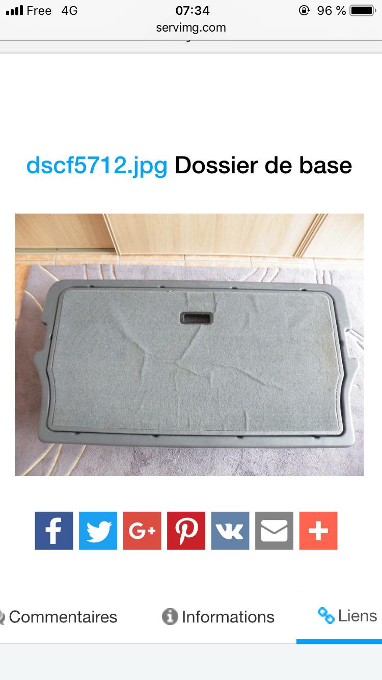 Bac de coffre S4 F6b41210