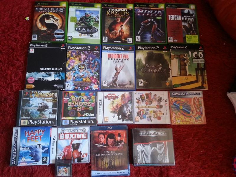 [RECH] Jeux Xbox / PS1 / PS2 / Game Cube / dream cast  20150910