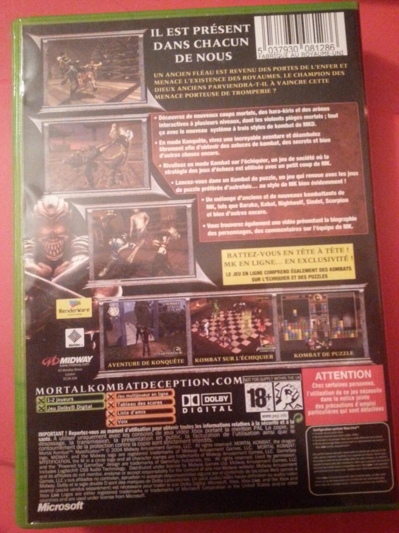 [RECH] Jeux Xbox / PS1 / PS2 / Game Cube / dream cast  20150912