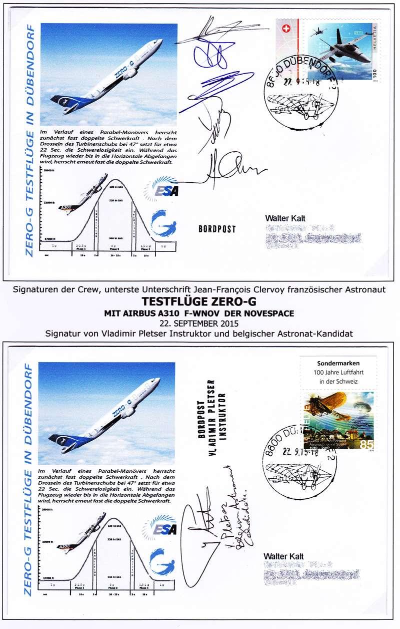 Zero-G - Flug Zero-g11