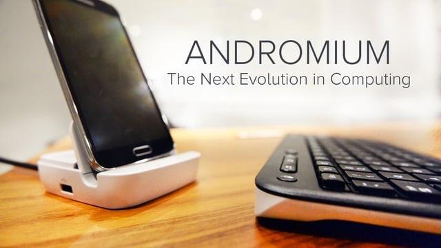 تطبيق Andromium OS معه ستُحوّل هاتفك الأندرويد لجهاز كمبيوتر Image11