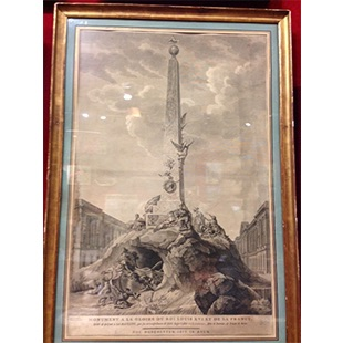 Maquette d'un monument dédié à Louis XVI Image12