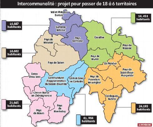 Fusions des intercommunalités Interc10