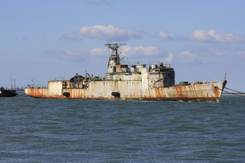 ex aviso-patrouilleur DETROYAT en route pour Gand Detroy10