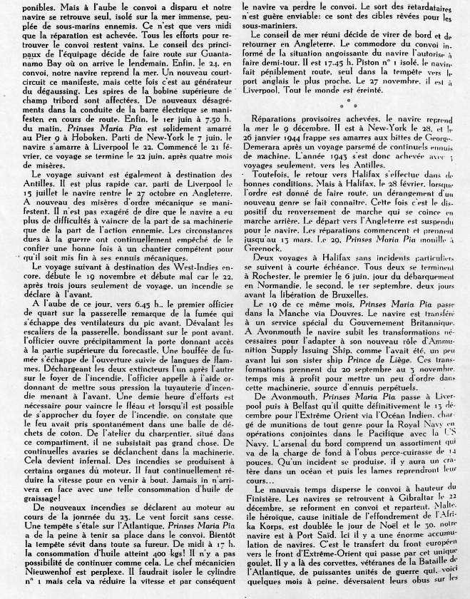 ms PRINSES MARIA PIA armement Dens Océan Numyri12