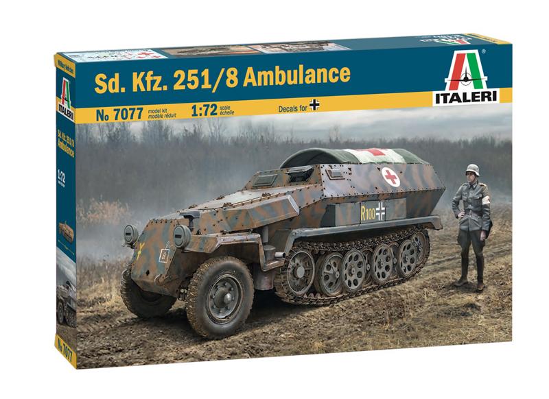 Sd.Ffz. 251/8 ambulance - Italeri 0113