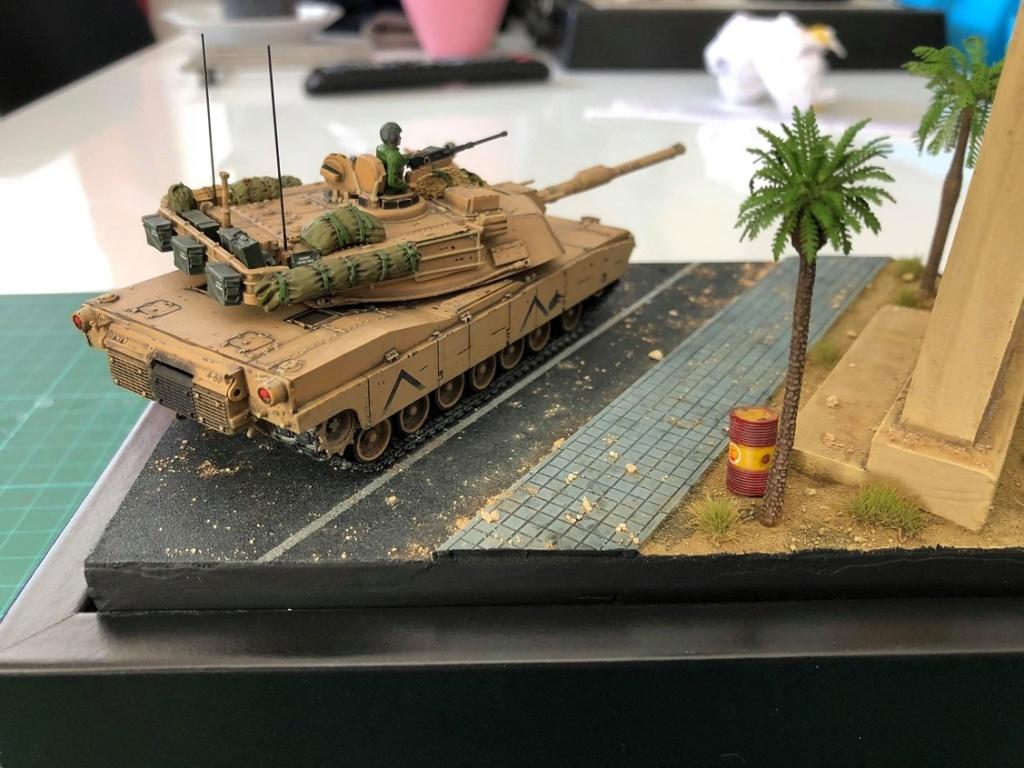 M1A1 Abrams - Irak 1991. *Terminé* M1110