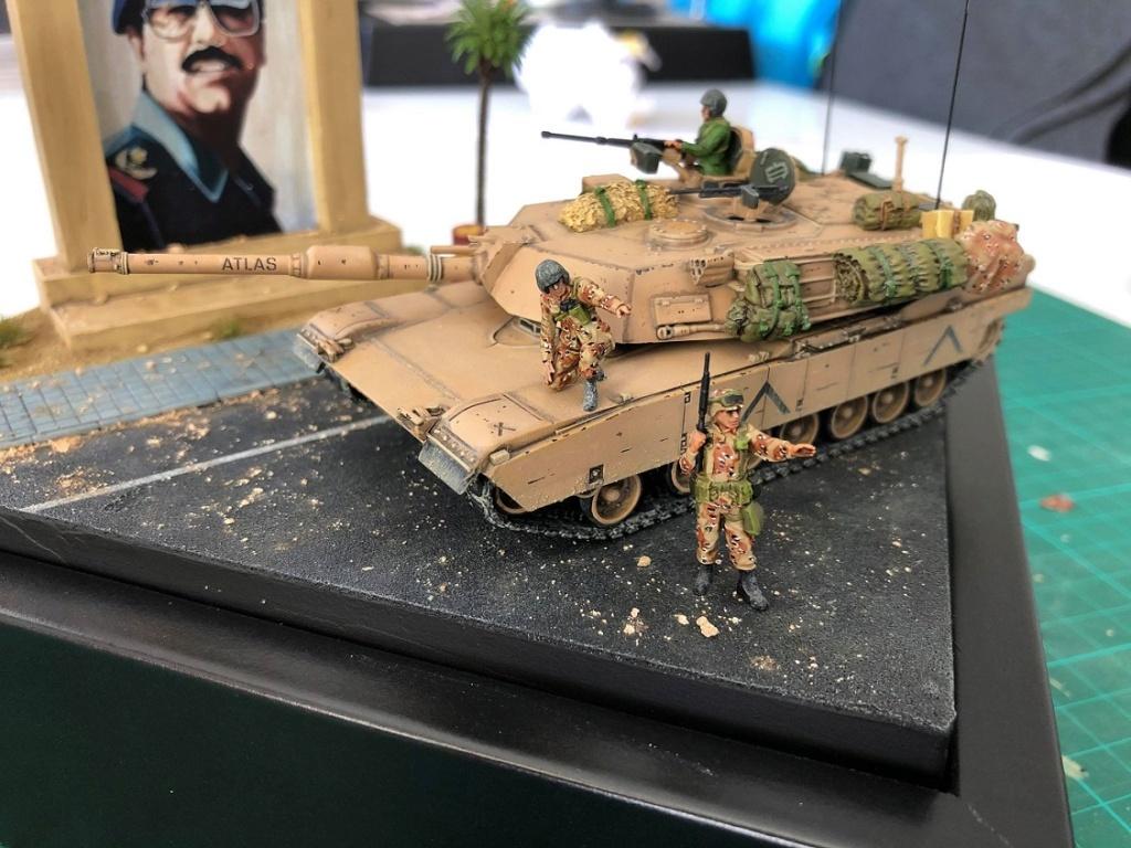 M1A1 Abrams - Irak 1991. *Terminé* M1310