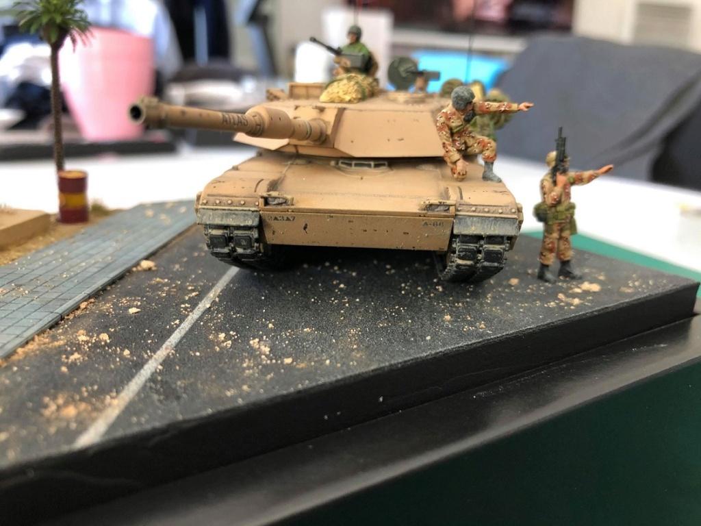M1A1 Abrams - Irak 1991. *Terminé* M1510
