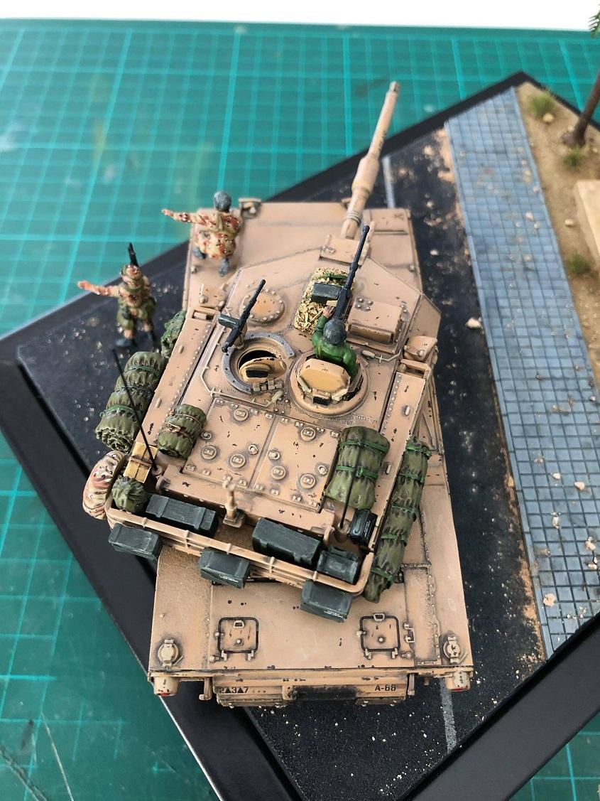 M1A1 Abrams - Irak 1991. *Terminé* M1610