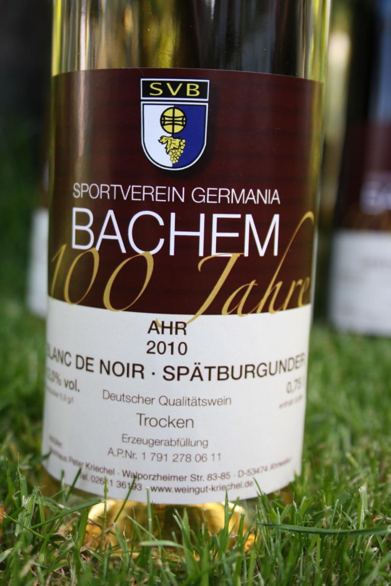 Jubiläumswein 100 Jahre SV Bachem Img_6827