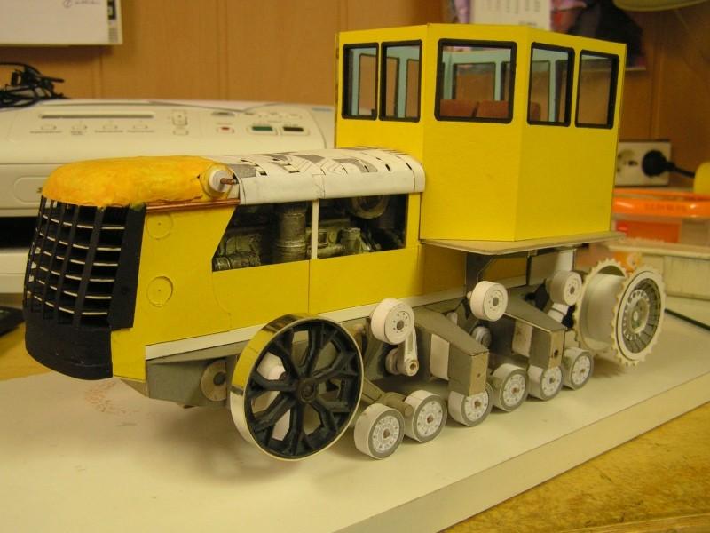 Kettentraktor T180-G  M1:20 gebaut von Klebegold - Seite 3 148k11