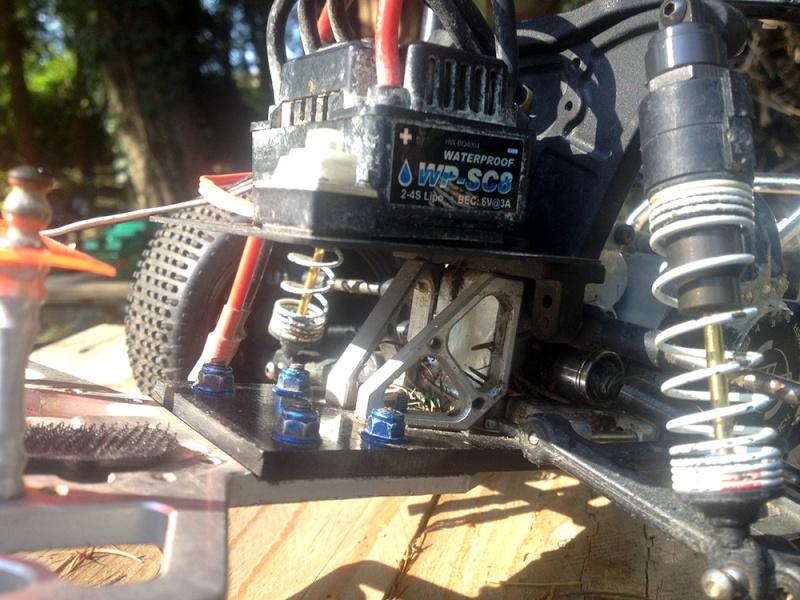 [Proto] Slash 4x2 sur base Chassis Rustler (Vidéo en P1) Img_2610