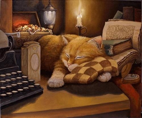Mit Katzen zusammenzuleben ist Glück pur Tumblr10