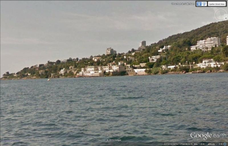 Boat view, street view se jette à l'eau Golfju10