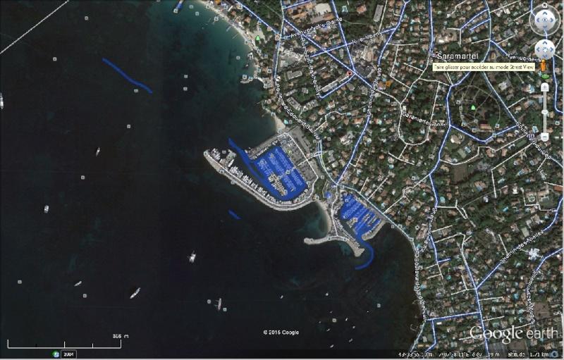 Boat view, street view se jette à l'eau Juan_l10