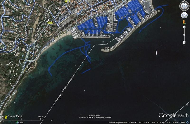 Boat view, street view se jette à l'eau Port_g10