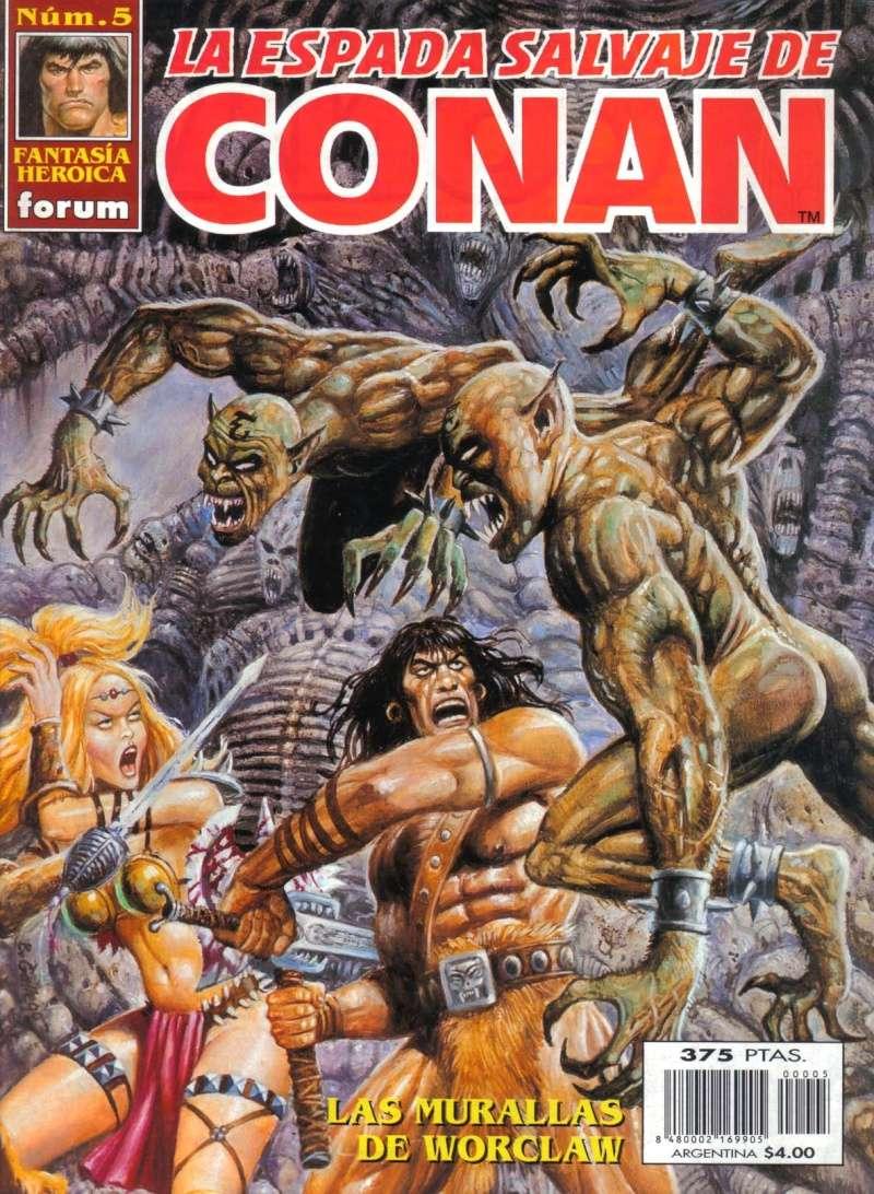 Peor portada/dibujo/ilustración de Conan H10