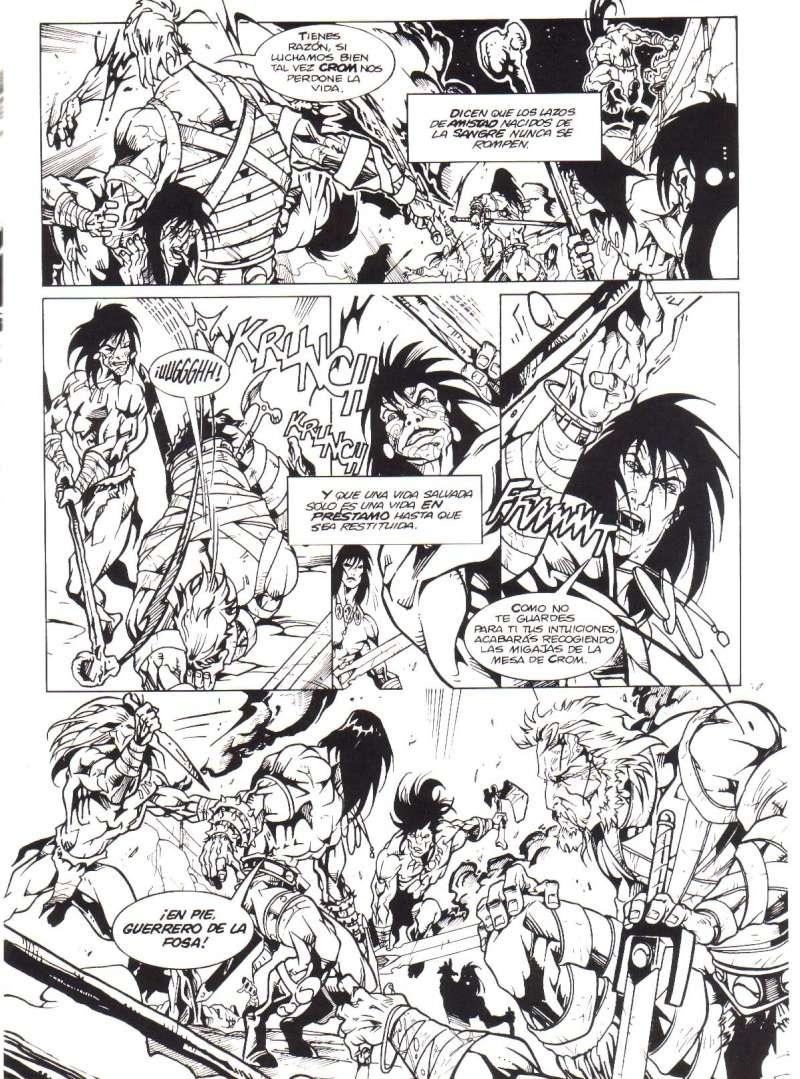 Peor portada/dibujo/ilustración de Conan Z12