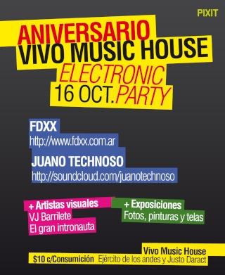 SUSPENDIDO -FIESTA ELECTRONICA Aniversario Vivo Music House, san luis (16.10.10) Vivo_213