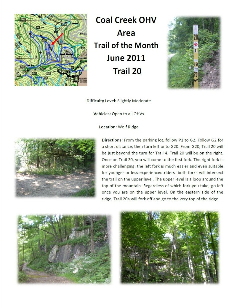 Coal Creek (Windrock) web site Trail210