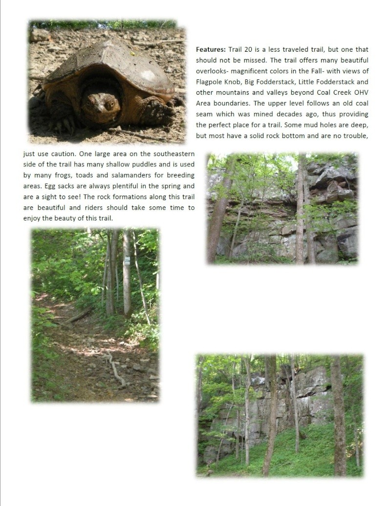 Coal Creek (Windrock) web site Trail211