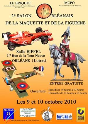 Salon de la maquette et de la figurine ORLEANS 9 et 10 Octobre 2010 Affich10