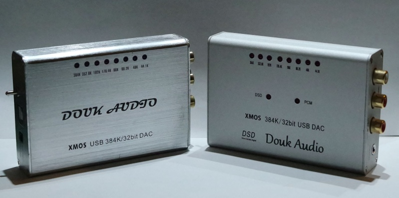 Douk audio Vs Douk audio DSD 2 DAC economici a confronto Uno10
