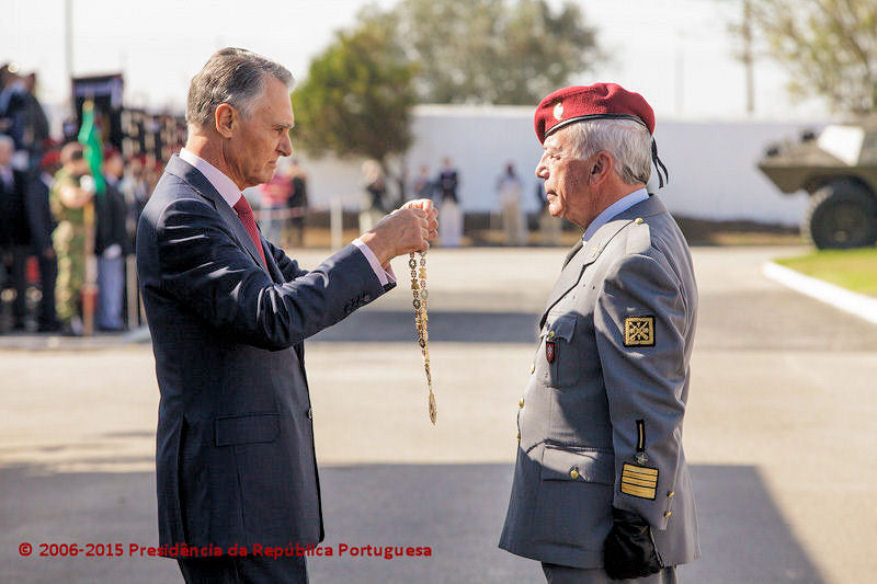 Coronel tirocinado de Infantaria 'Comando' Raul Miguel Socorro Folques 15100910