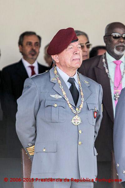 Coronel tirocinado de Infantaria 'Comando' Raul Miguel Socorro Folques 15100911