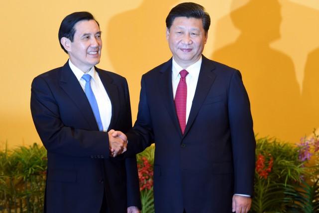 Rencontre historique samedi entre la Chine et Taïwan 10844010