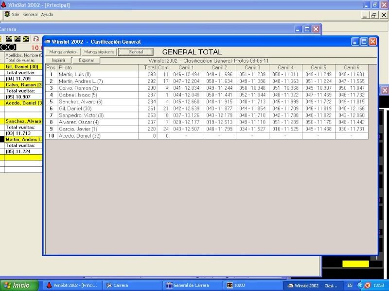 5ª prueba scx series/protos 8-5-2011 08-05-11