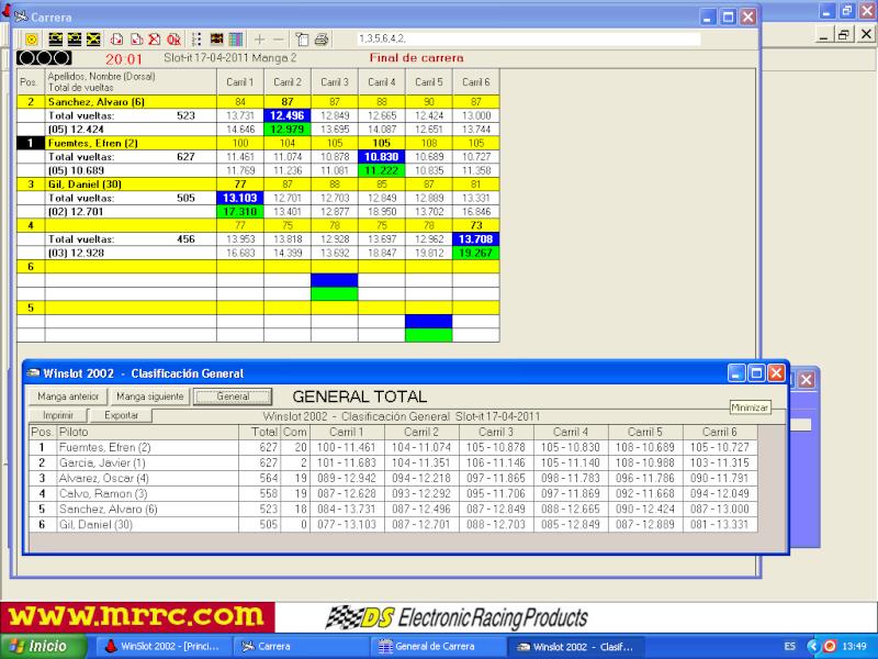 2ª prueba slot.it series 2011 17-4-2011 17-04-10