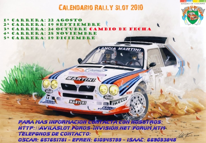 Calendarios y eventos temporada 2010-2011 Calend10