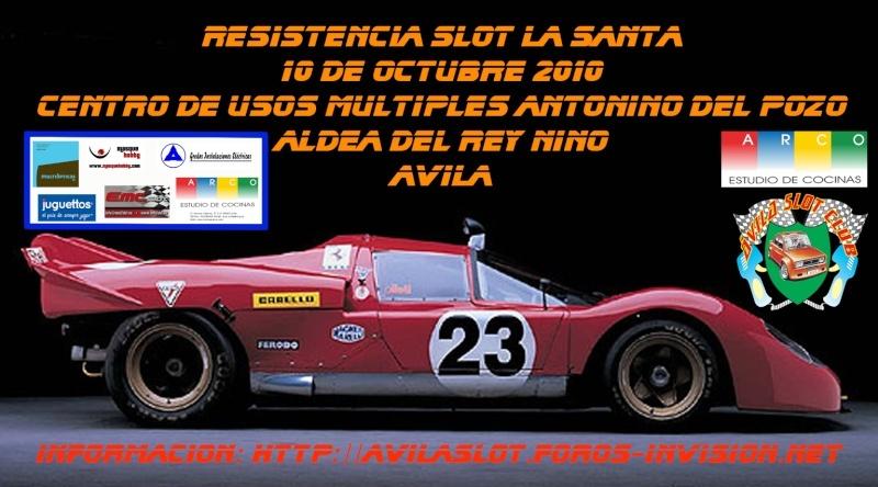 Calendarios y eventos temporada 2010-2011 Resist10