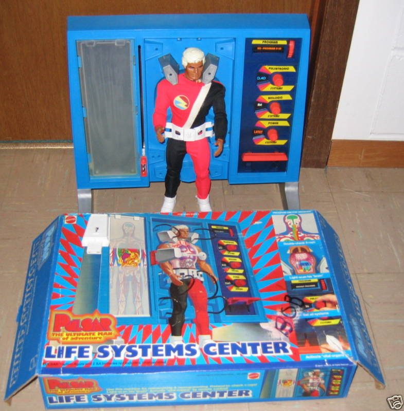 mattel Hypnos,dalla serie Pulsar the ultimate man 1977 Puls110