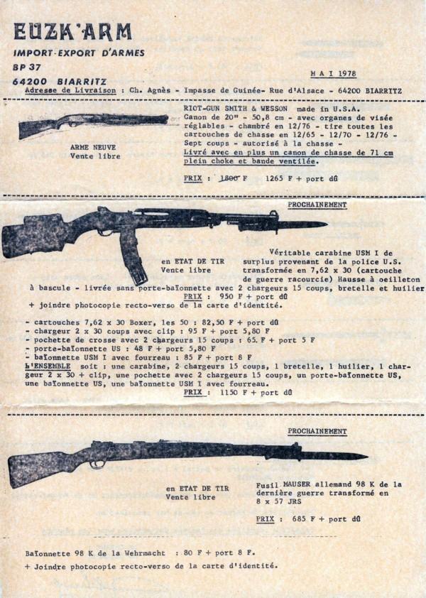carabine Erma M1 22lr Scan1010