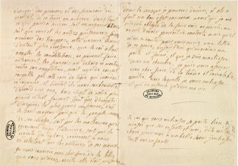 Les dernières lettres de Marie-Antoinette Img22111