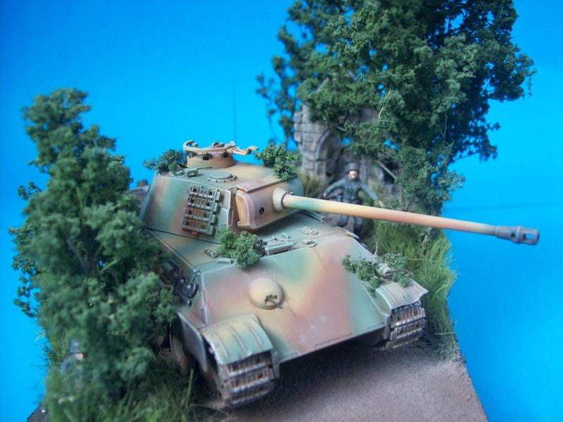 Panther  de Revelle au 1/72° Maquet40