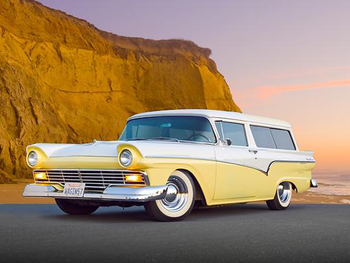 REVELL (Monogram) 1957 Ford Del Rio  wagon!  Aut-2110